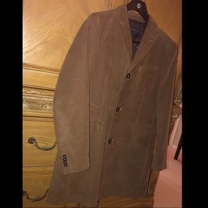 Banana Republic Italian Moleskin Topcoat